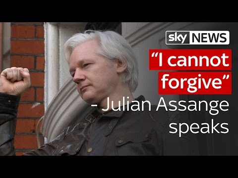 Julian Assange: 'I cannot forgive terrible injustice'