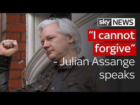 Julian Assange I cannot forgive terrible injustice