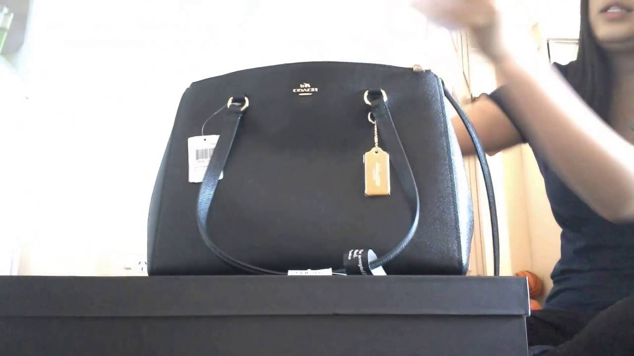 a49f05b900 Coach Stanton Carryall Review (purchased off Reebonz) - YouTube