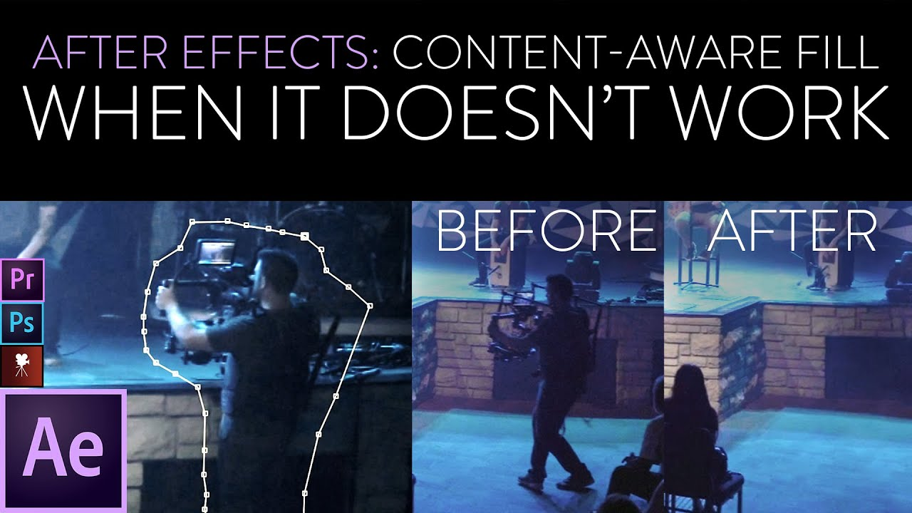 After Effects Content Aware Fill: When It Doesn't Work