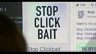 News Report on Stop Clickbait (Next With Kyle Clark on 9News)