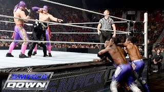 Los Matadores & El Torito vs. The New Day – 6-Being Tag Team Match: SmackDown,. Aug. 20, 2015