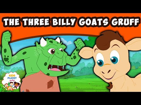 THE THREE BILLY GOATS GRUFF - Story In Tamil | Fairy Tales In Tamil | Tamil Story For Kids 2020