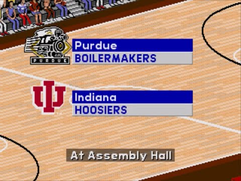 Coach K College Basketball | 1995 | 1st Round | Purdue vs Indiana | SGCTS
