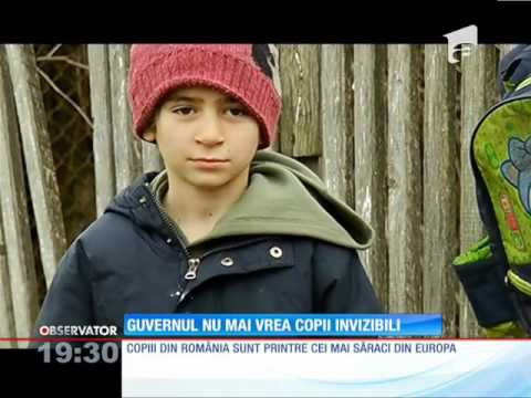 România are cei mai săraci copii din Uniunea Europeană