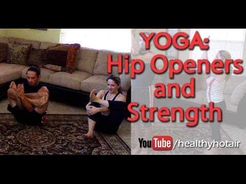 Yoga for Weight Loss Part 3: Yoga Hip Opener and Strength Lengthening Yoga