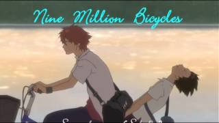 Nine Million Bicycles (Cover) (for my beloved friends)