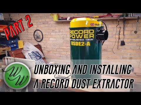 Weekend Workshop - Unboxing The Record Power RSDE2-A Dust Extractor