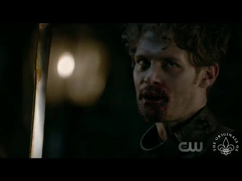 The Originals 4x01 Alistair showdown with Klaus. Klaus attac