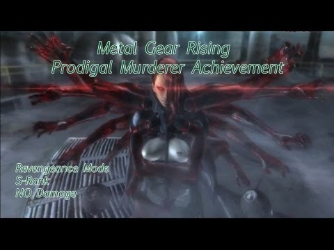 Metal Gear Rising Prodigal Murderer Achievement Revengeance Mode, S-Rank and No Damage from YouTube · Duration:  5 minutes 28 seconds