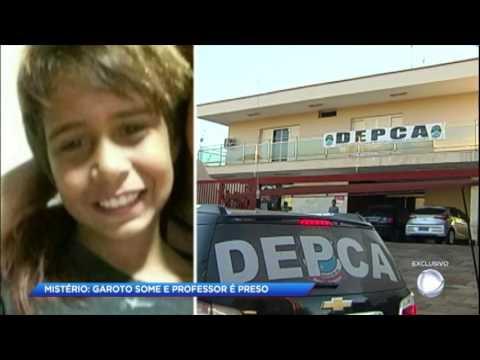 Polícia continua busca pelo corpo de menino vítima de pedofilia