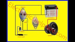 2N3055 amplifier circuit diagram, how to make 2n3055 amplifier? 2n3055 circuit diagram, electronics