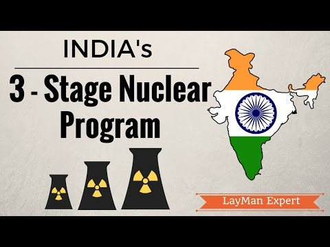 3-Stage Civilian Nuclear Program of India & India-Japan Nuclear Deal (IAS, UPSC)