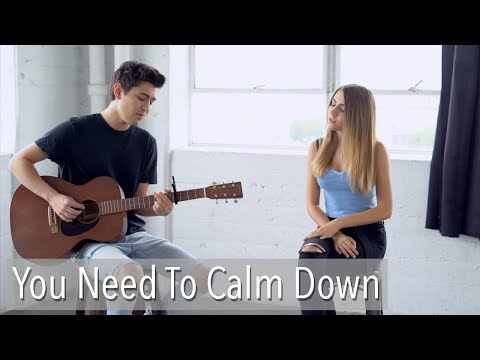 You Need To Calm Down by Taylor Swift  cover by Kyson Facer & Jada Facer