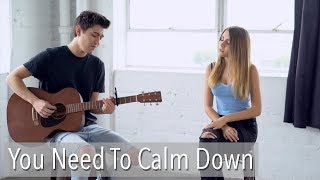 You Need To Calm Down by Taylor Swift | cover by Kyson Facer & Jada Facer mp3