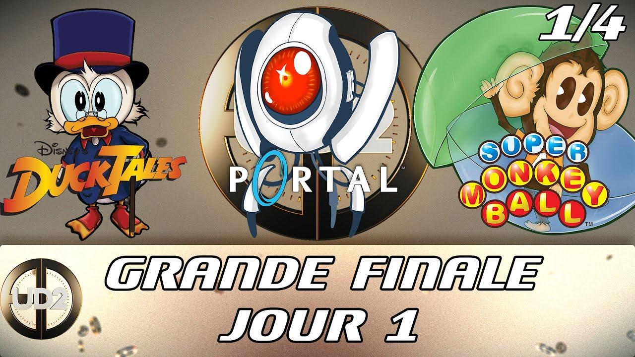Ultime Décathlon 2 - Grande Finale Jour 1 (Ducktales, Portal, Super Monkey Ball)