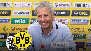 """""""Läuferisch stark und gefährlich!""""   PK mit Lucien Favre   SC Freiburg - BVB"""