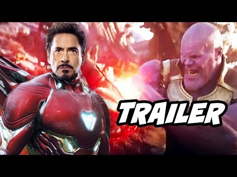 Avengers Infinity War Trailer - Iron Man Behind The Scenes Funny Moments Breakdown