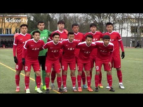 Umstrittenes DFB-Projekt: Eklat bei Premiere von Chinas U20