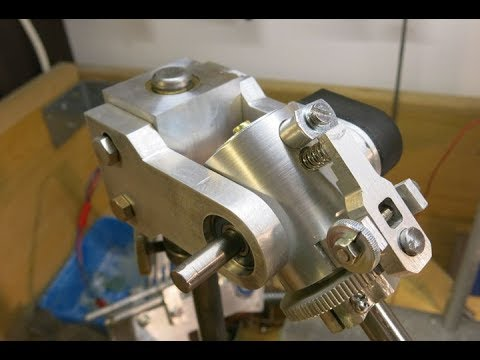 DIY Faceting Machine Part 19 - The Compact Faceting Head
