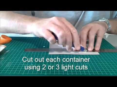 How To Build Shipping Containers For Model Trains and Railroads
