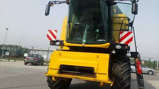 Kombajn NEW HOLLAND TC5.80