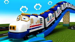 Chuggi The Supper Toy Train - Choo Choo Cartoon Train - Cartoon Cartoon - Toy Train Cartoon