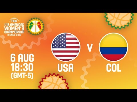 USA v Colombia - Full Game - Semi-Finals