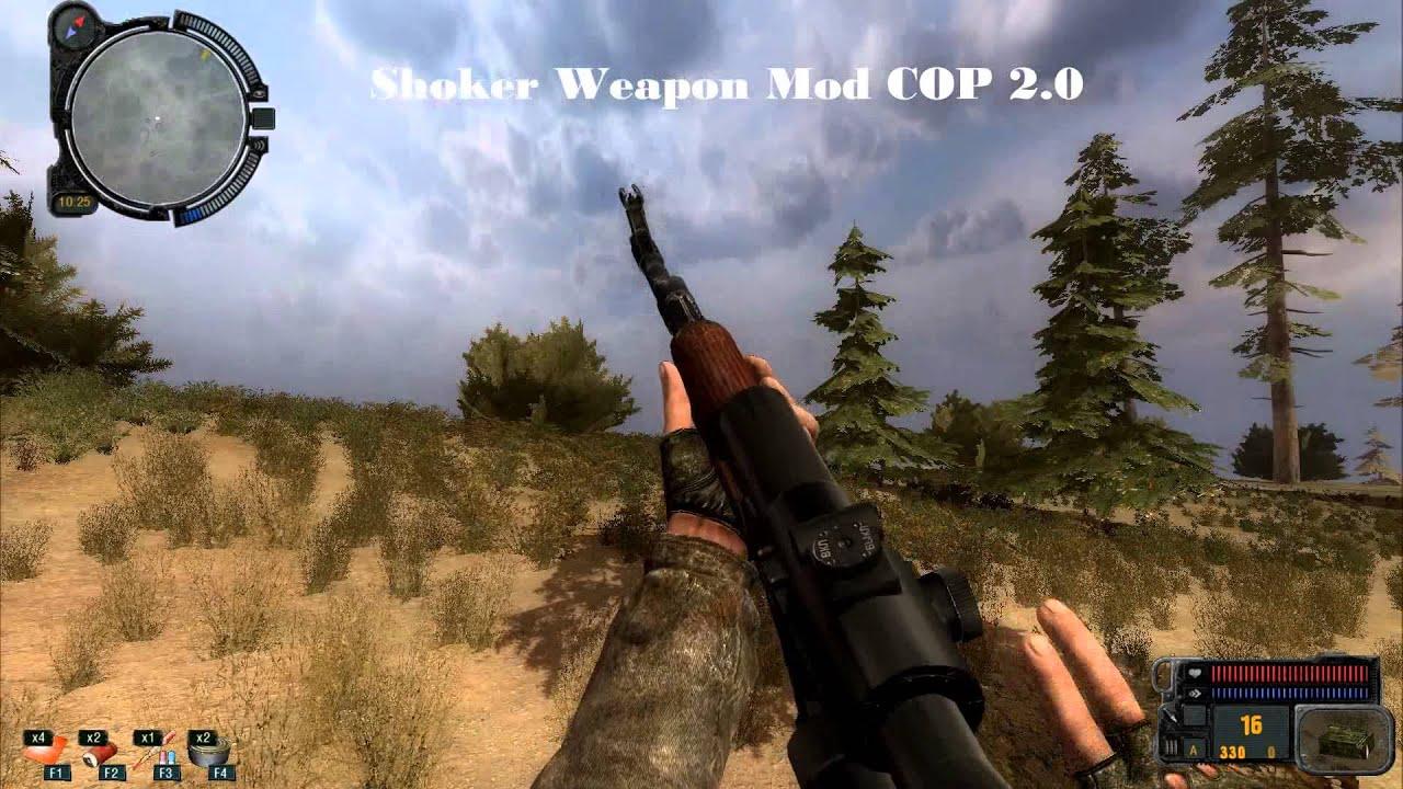 Stalker Cop Shoker Weapon Mod 3.0 скачать