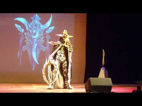 Concurso de Cosplay Otacon! Nicolas - Maiev Shadowsong de Warcraft ! 20-08-2017