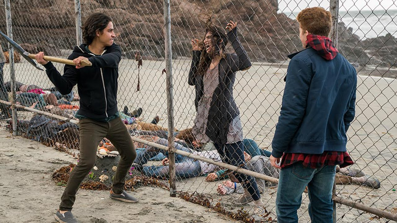 fear the walking dead 2x02 we all fall down serienjunkies podcast youtube. Black Bedroom Furniture Sets. Home Design Ideas
