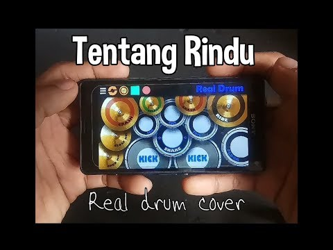 VIRZA - TENTANG RINDU ( REAL DRUM COVER )