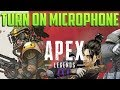 How Apex Legends Voice Chat Works & FIXES!