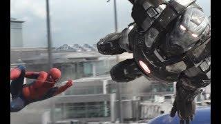 Captain America Civil War - Airport Scene Part-3 (Tamil)