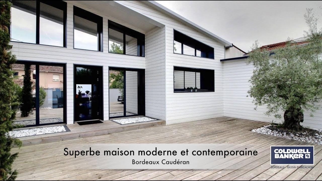 Superbe maison moderne et contemporaine a vendre BORDEAUX CAUDERAN ...