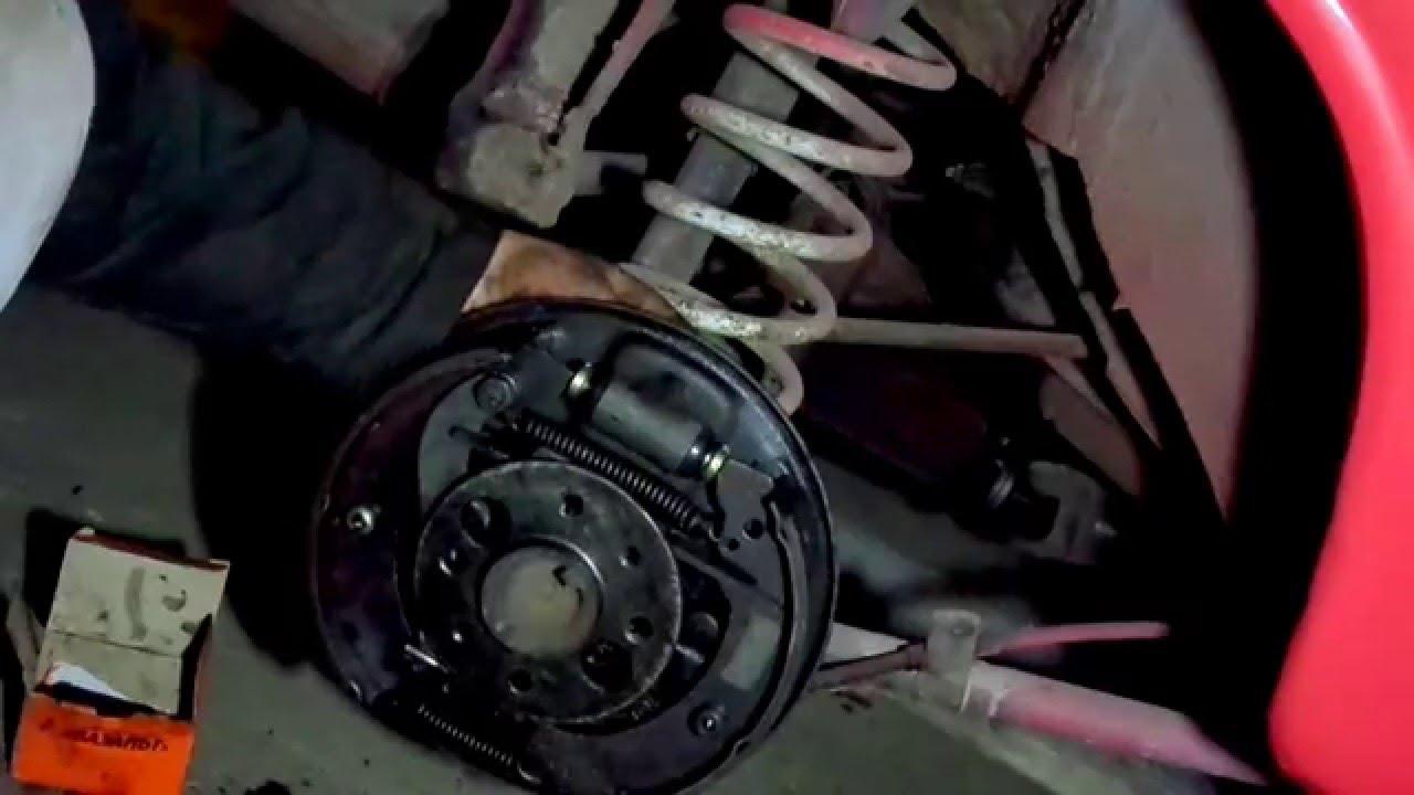 примерка литья RH 15 на Daewoo Sens
