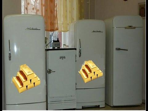 ✅ Золото в холодильнике ЗИЛ Москва