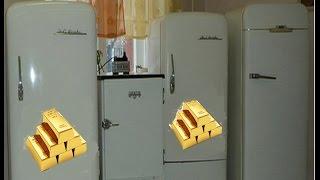 Смотреть видео ✅ Золото в холодильнике ЗИЛ Москва онлайн