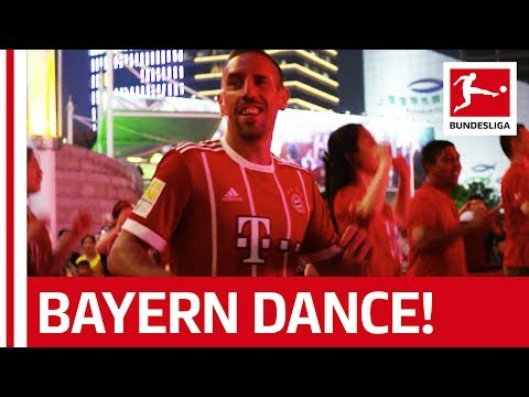 Lewandowski, Ribéry & Sanches  - Dance Contest in Shanghai!