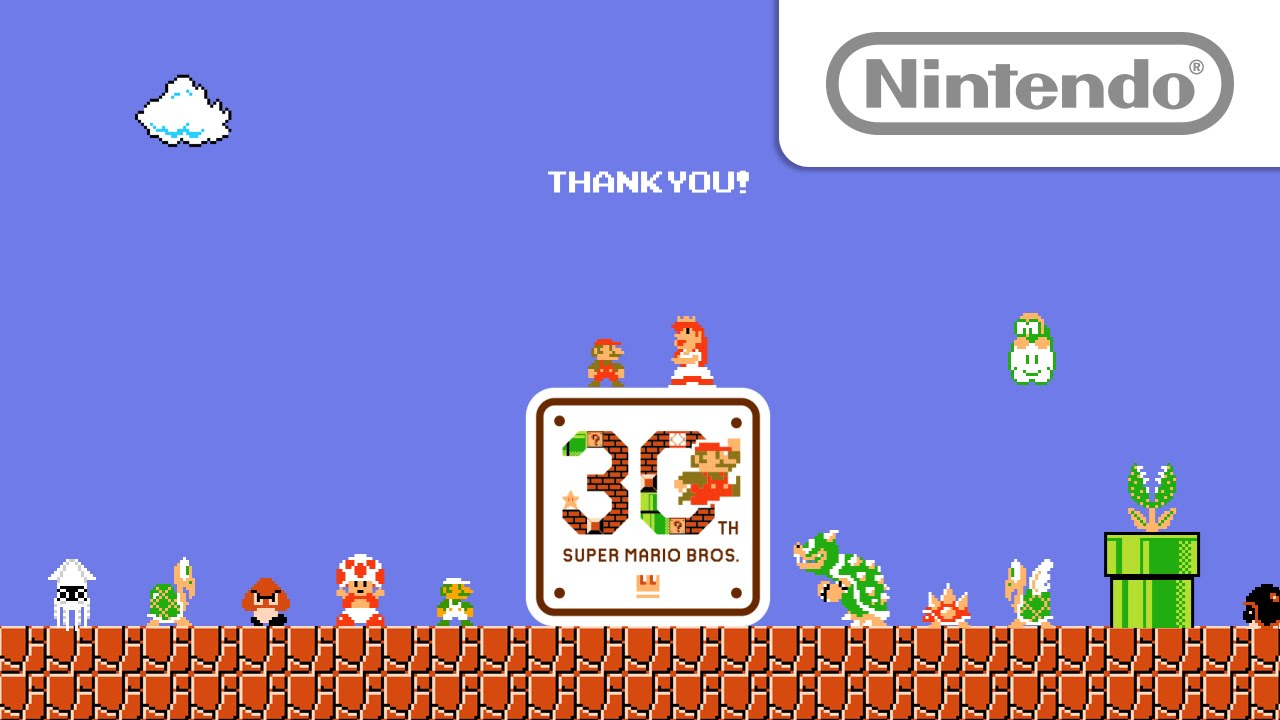 Let S Super Mario Thank You Video Youtube