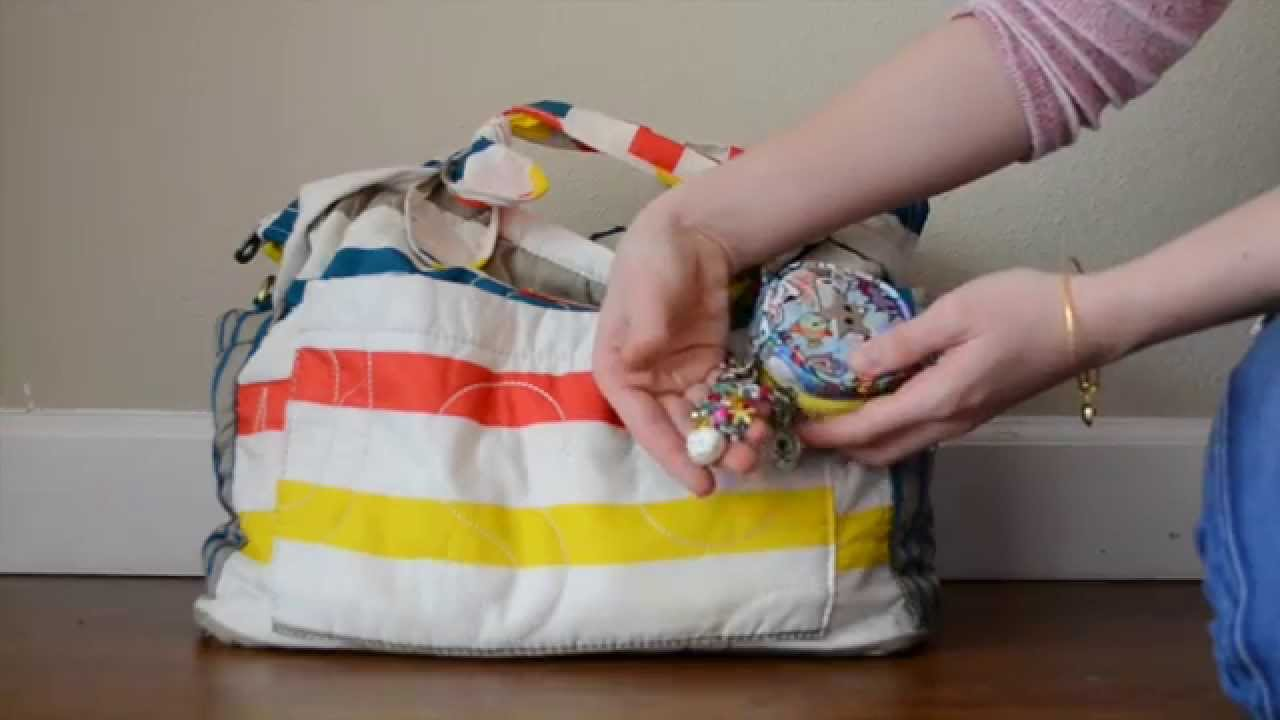 70f1dd31ae0a Review  Marc By Marc Jacobs Diaper Bag - YouTube