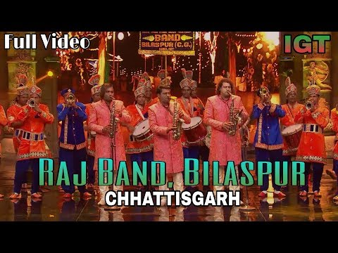 Raj Band Bilaspur Chhattisgarh In India's Got Talent New Full Video