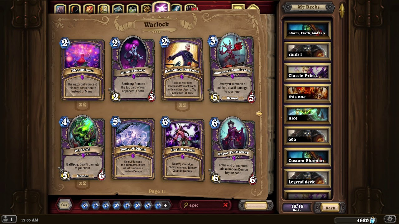 sell hearthstone account