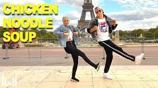 CHICKEN NOODLE SOUP -  J-hope Ft Becky G Dance   Matt Steffanina & Jordyn Jones