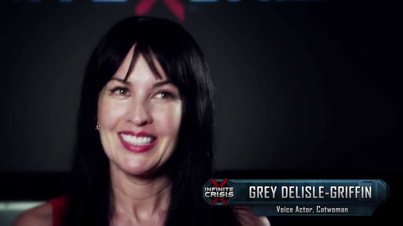 INFINITE CRISIS Behind the Voice - Grey Delisle Griffin as Catwoman - YouTube