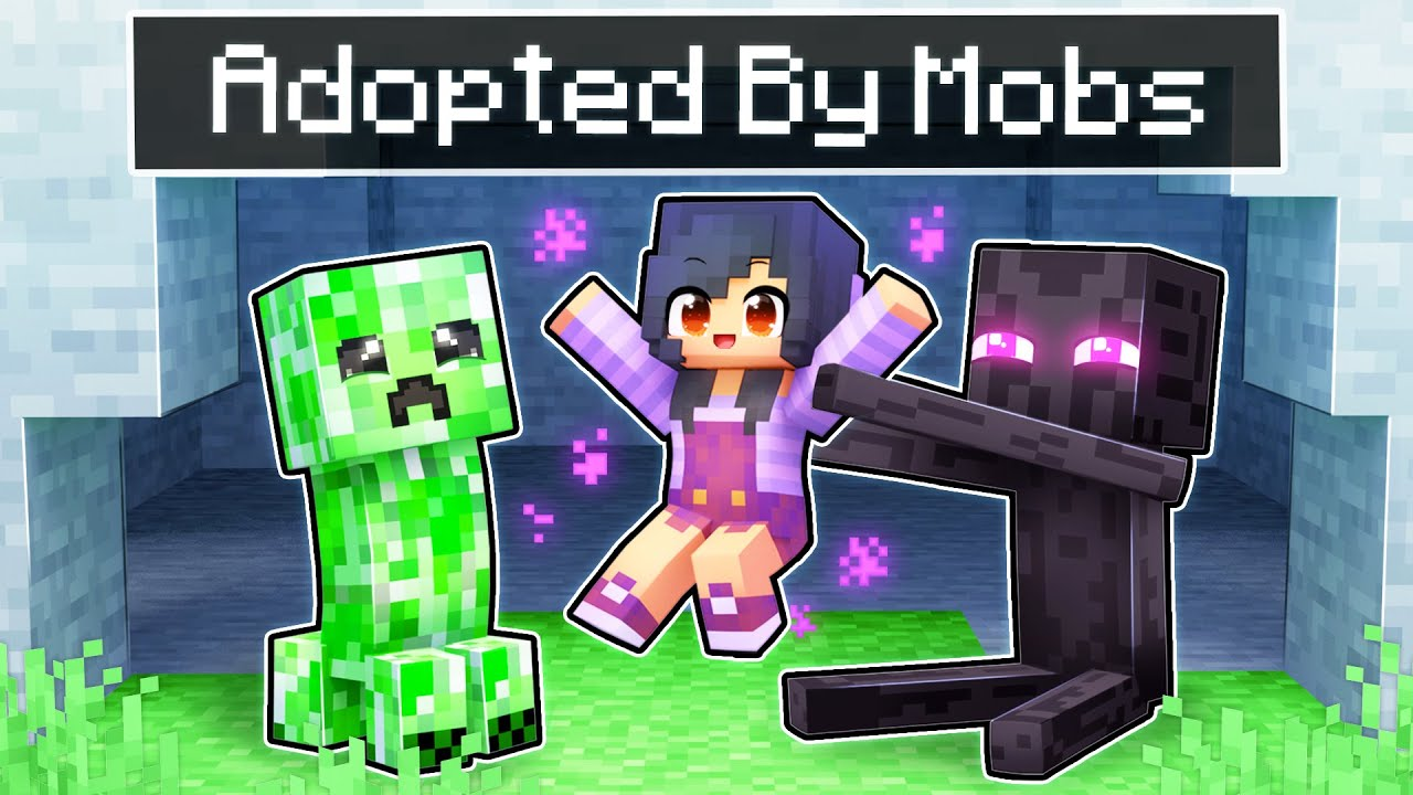 Download Adopted By MOBS In Minecraft!
