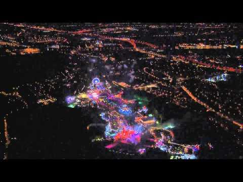 Feu d'artifice pour David Guetta à Tomorrowland