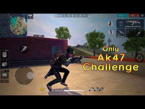 Ranked Match Only AK47 Challenge || Garena Free Fire