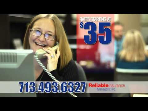 Reliable Insurance Katy, Texas - Houston Texas - Non Standard Insurance
