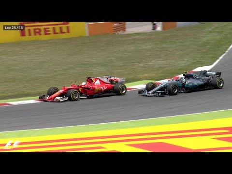 How Lewis Hamilton Won The 2017 Spanish Grand Prix